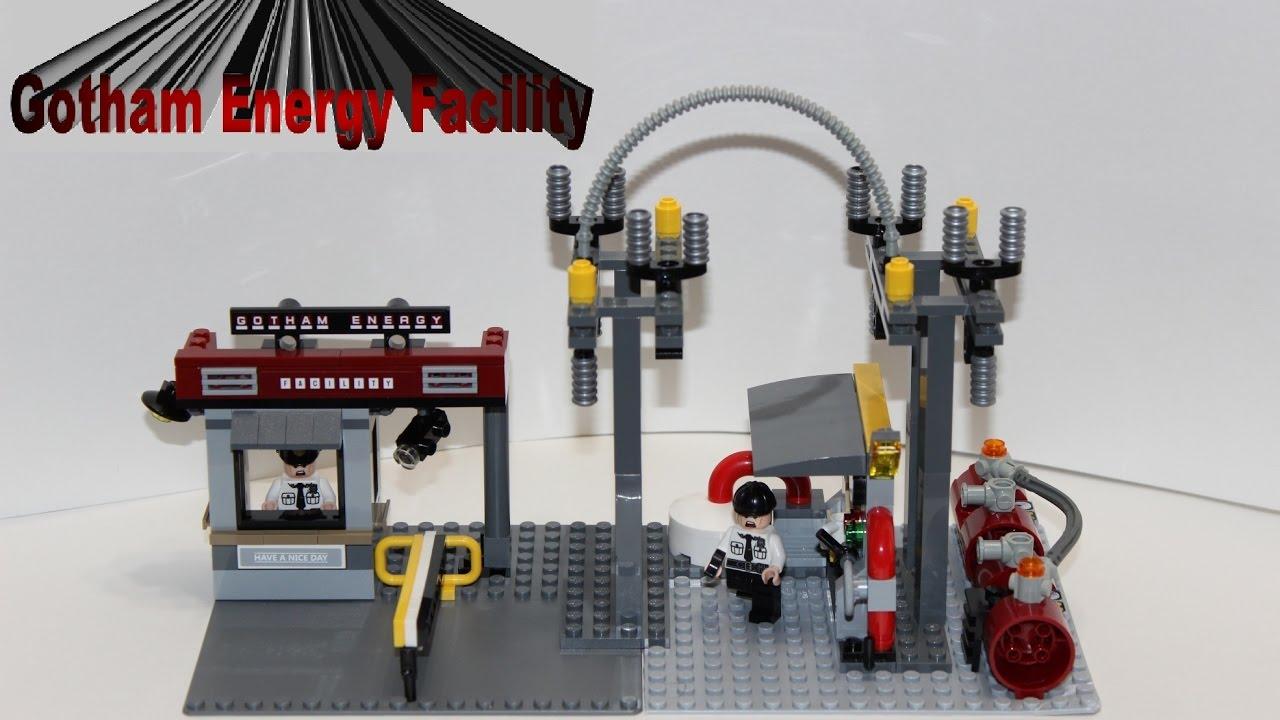 Lego City Electrical Power Plant Youtube