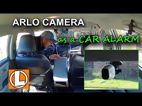 Arlo Pro Security Camera  As A Car Alarm And Siren System