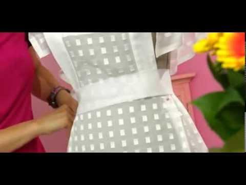 Como hacer un delantal o mandil