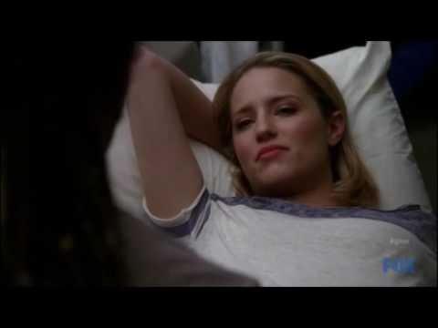 Glee   Joe and Quinn at Quinn's physical therapy 3x17