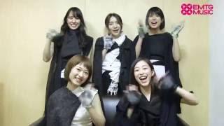 EMTG MUSIC にてひめキュンフルーツ缶のインタビュー&コメント動画を公...
