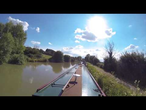 Canal boating Kennet&Avon England 2016
