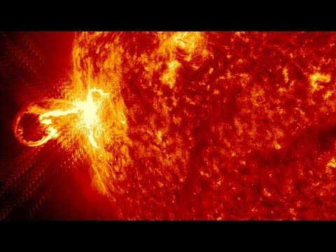 NASA | SDO Observes Strong X-class Solar Flare