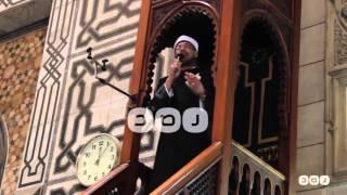 """رصد   """"دروس وعبر عن الإسراء والمعراج"""".. خطبة الجمعة في مسجد الفتح برمسيس"""