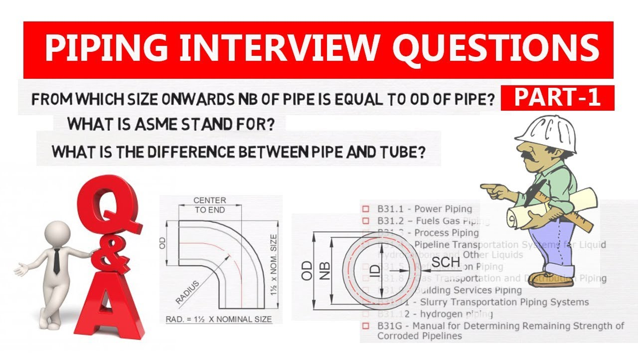 Part  1 Piping Interview Question U0026 Answer | Piping Official