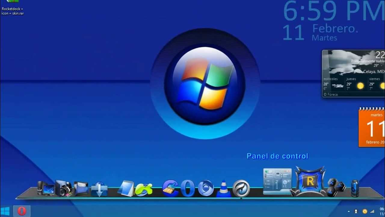 Download 3d Live Wallpaper For Windows 7 Rocketdock Para Windows 8 1 8 7 Vista Xp Estilo