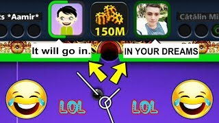 HE MADE FUN OF MY SHOT IN 8 BALL POOL, I MADE HIM REGRET INSTANTLY