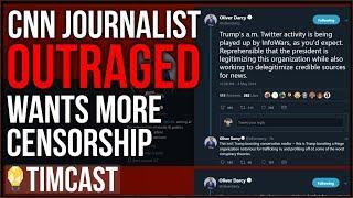 CNN FURIOUS Over Trump's Defense Of Paul Joseph Watson