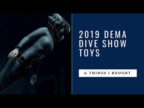 Things I Bought At DEMA Dive Show 2019