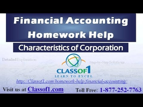 characteristics of corporation financial accounting homework characteristics of corporation financial accounting homework help by classof1 com