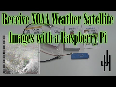 Receiving NOAA Weather Satellites with an SDR and a Rasperry