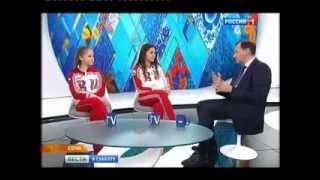 Юлия Липницкая и Аделина Сотникова о Евгении ПлющенкоYulia Lipnitskaia and Adelina Sotnikova