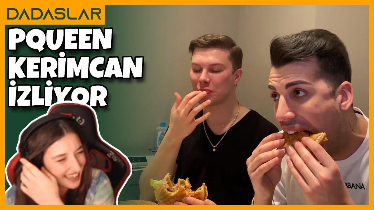 Pqueen - Kerimcan Durmaz'ın KARANTİNADA BIGMAC Vlogunu İzliyor #17