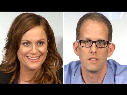 Inside Out Pixar Press Conference  - Amy Poehler & Pete Docter
