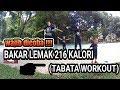 4 MENIT BAKAR LEMAK 216 KALORI ( TABATA WORKOUT) !!!!!!