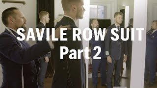 How to make a Savile Row Suit (Part 2) – with Anderson & Sheppard | FASHION AS DESIGN