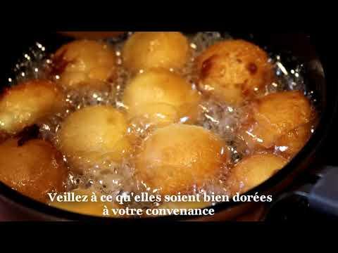 Délicieuse recette de beignets soufflés