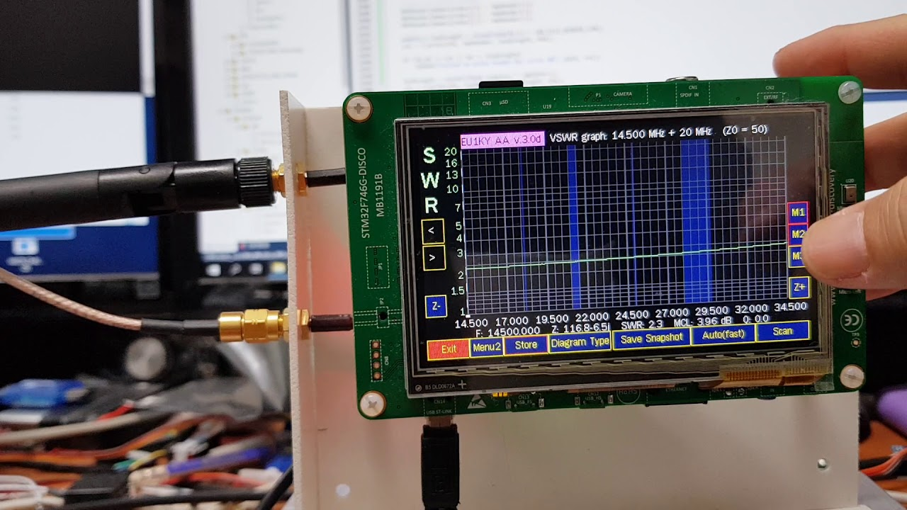 Improvement of frequency panorama measurement of antenna