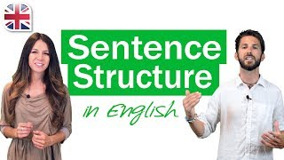 English Sentence Structure - English Grammar Lesson