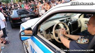 NYPD harassing Lamborghini Batventador