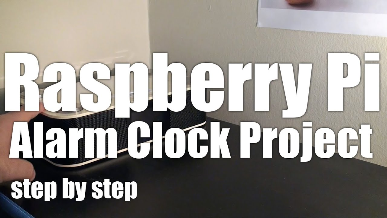 Raspberry Pi: step-by-step instructions for a Speaking Alarm Clock
