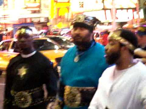 Black Israelites In Times Square