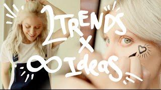 2TRENDS: Комбинезоны и Face Art / How To Style Overalls
