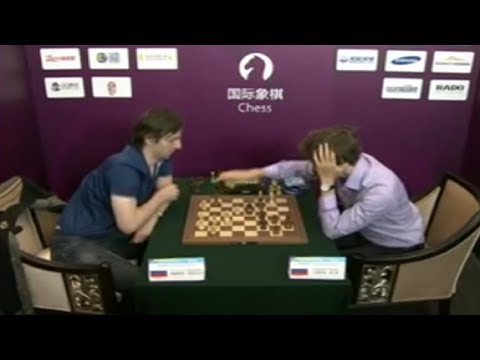 Grischuk vs Karjakin 2013 SportAccord Exciting Blitz Chess!