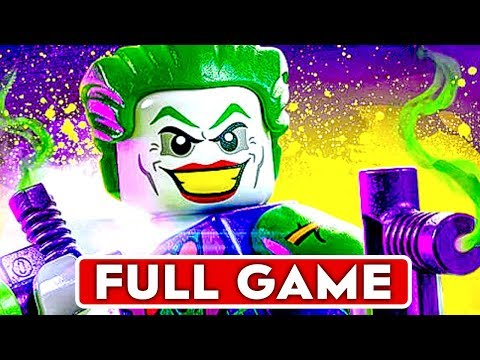 LEGO DC SUPER VILLAINS Gameplay Walkthrough Part 1 FULL GAME 1080p HD PS4 PRO  No Commentary