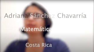 Mujeres W-STEM: Adriana Sánchez Chavarría