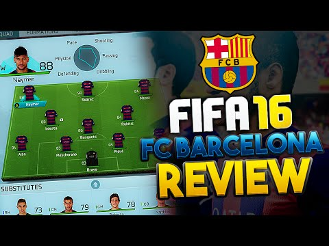 FIFA 16 How to play with Barcelona | Best Formation, Instructions, Custom tactic | Tips & Tricks