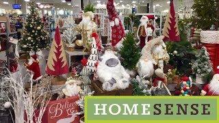 HOME SENSE NEW CHRISTMAS 2019 DECORATIONS DECOR - SHOP WITH ME SHOPPING STORE WALK THROUGH 4K