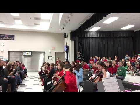 Forts Pond Elementary School 5th Grade Orchestra 2017, Hot Cross Buns
