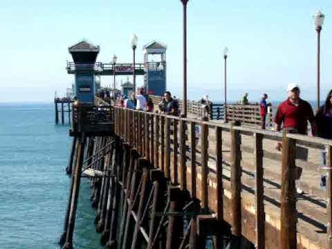 Oceanside California Pier and Beaches