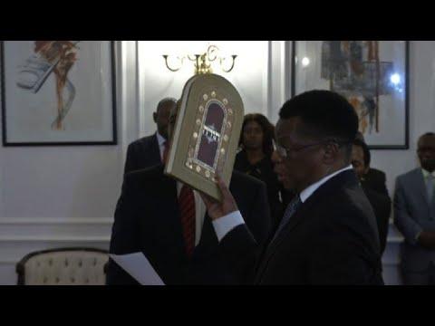 Zimbabwe's Mnangagwa swears in new prosecutor general