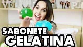 SABONETE DE GELATINA | DIY