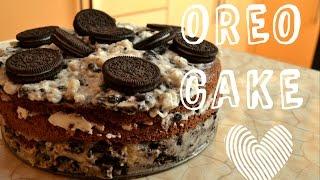 К ЧАЮ | OREO CAKE | Рецепт торта OREO | полуVLOG