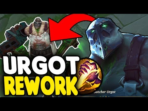 New Urgot Rework Jungle Is Crazy Op Have You Seen Anything Like