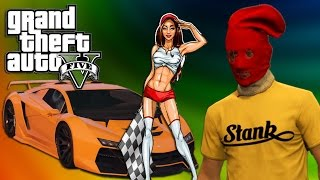 NIGHT OUT ON THE TOWN, STREET RACE! | GTA V FUNNY MOMENTS :D