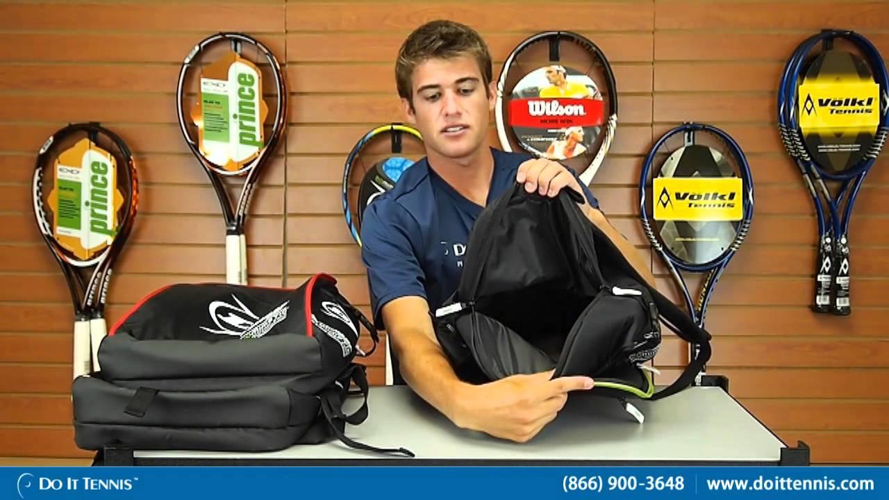 2b3cb0e4350b Dunlop Biomimetic Tennis Backpack. Do It Tennis