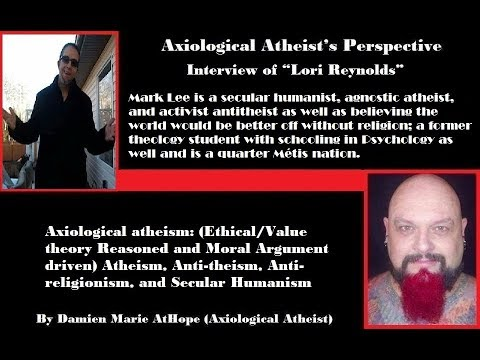 Interview EP (55) Mark Lee secular humanist agnostic atheist & antitheist