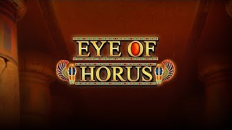 Eye of horus BIG WIN - Casino games (Online slots) from LIVE stream