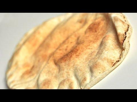 طريقة تحضير الخبز اللبناني Youtube