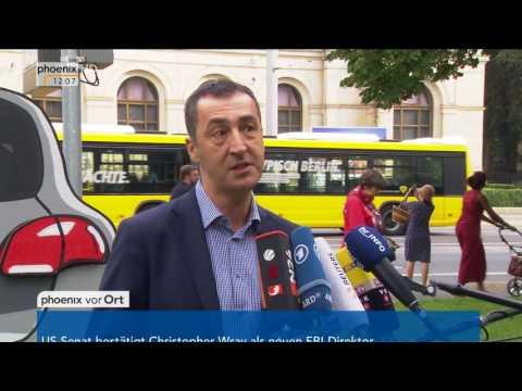 """Diesel-Skandal: Cem Özdemir zum """"Nationalen Forum Diesel"""" am 02.08.17"""