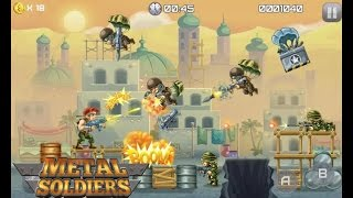 Video Metal Soldiers:  Best Score 2415 - Gameplay [ Android] HD download MP3, 3GP, MP4, WEBM, AVI, FLV Desember 2017