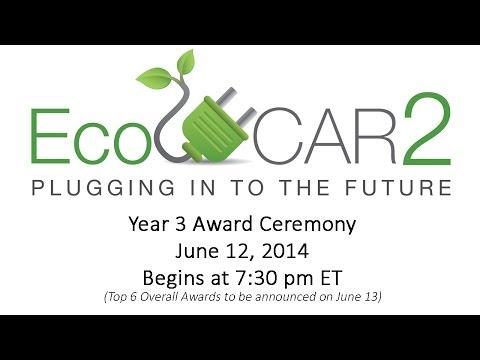 EcoCAR 2 Award Ceremony 2014