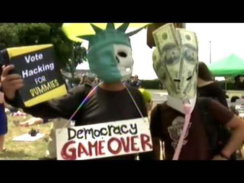 "Bernie Sanders Supporters Stage ""DIE-IN"" Outside DNC"