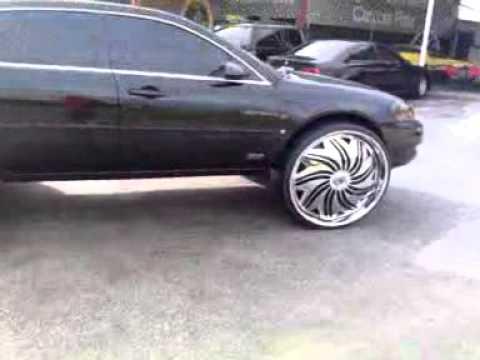 06 Impala On 30s Lift By Black N Whit Customz Youtube