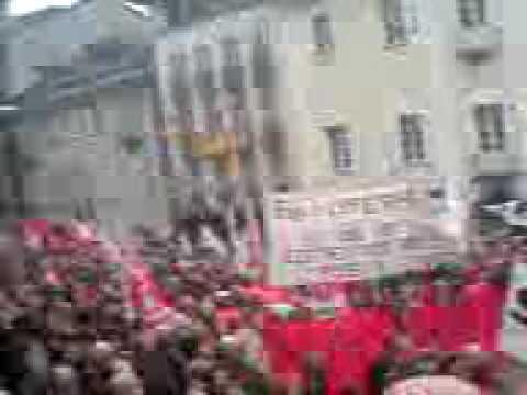 Manifestazione Officine FFS Bellinzona - Piazza Collegiata 1