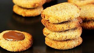 Cookies Mit Nur 2 Zutaten | Paleo, Vegan, Glutenfrei